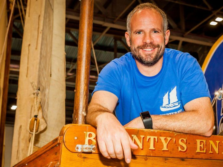 Historical Bligh Boat Race at Falmouth Classics